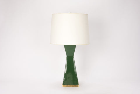 Single Melissa Lamp in Dark Green