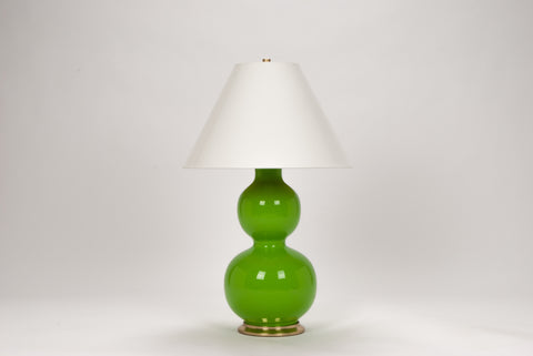 Carleton by Christopher Spitzmiller Natalie Lamp in Fiddlehead Green Lacquer