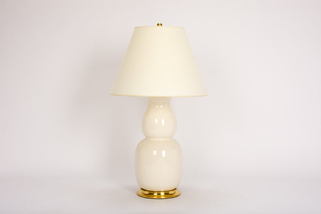 Single Nicholas Lamp in Clear