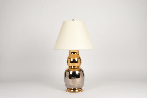 Single Nicholas Lamp in Mixed Luster