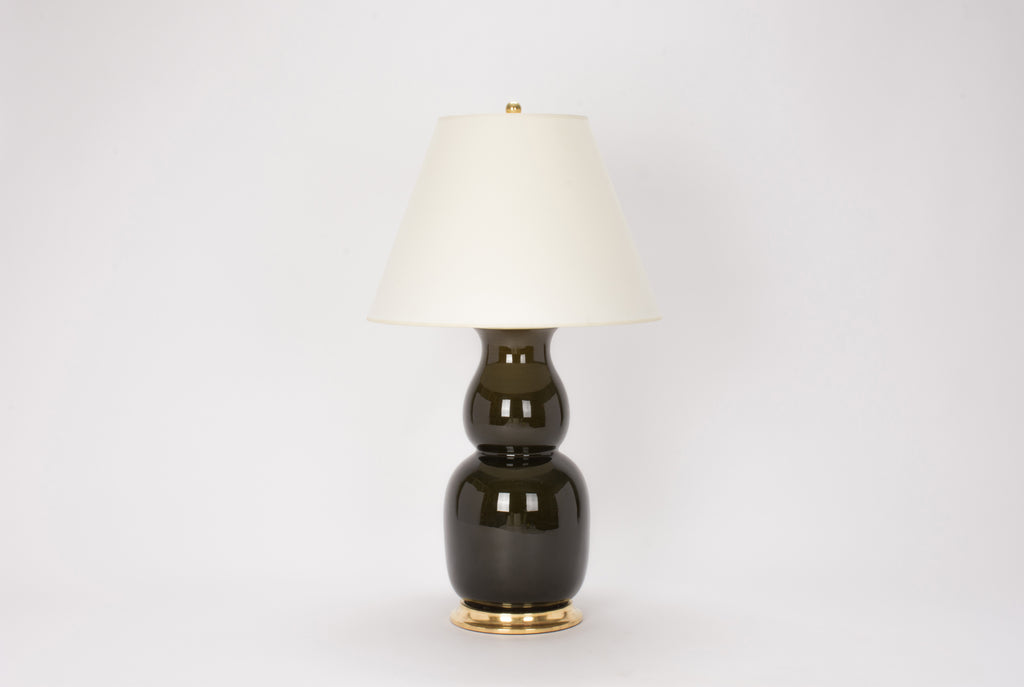 Single Nicholas Lamp in Olive