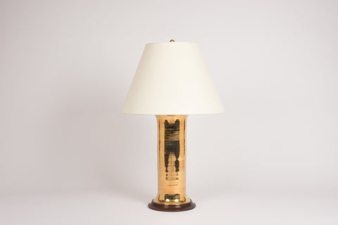 Single Patricia Lamp in Gold Luster