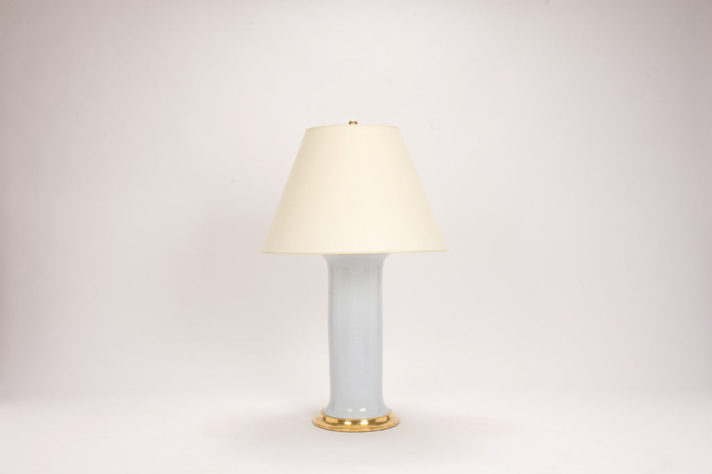 Single Patricia Lamp in Hope Blue