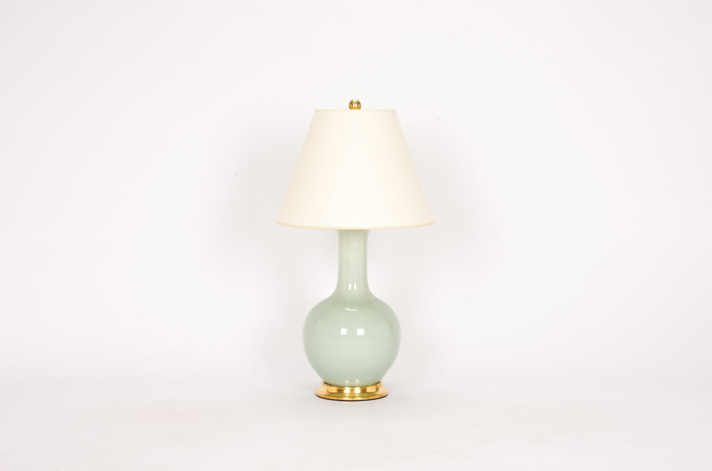 Single Small Single Gourd Lamp in Duck Egg