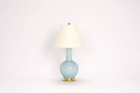 Single Small Single Gourd Lamp in Hydrangea