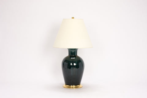 Single Soft Shoulder Lamp in Peacock