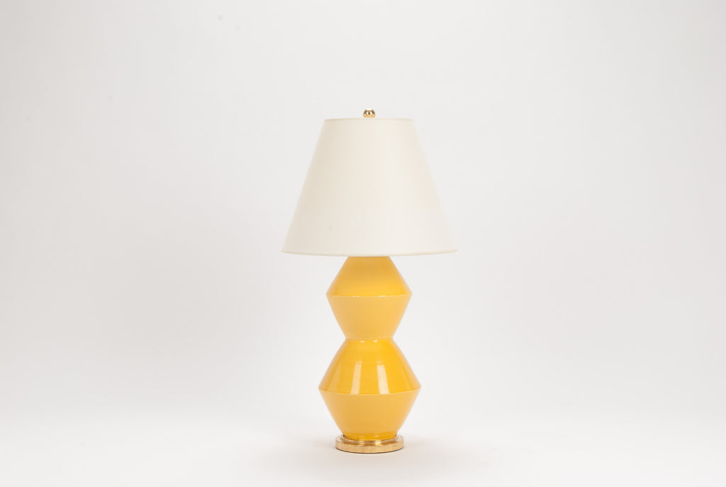Single Medium David Lamp in Marigold