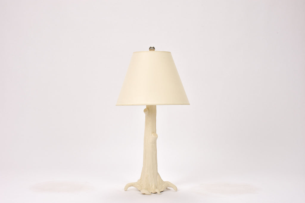 Single HT Tree Lamp in Matte White