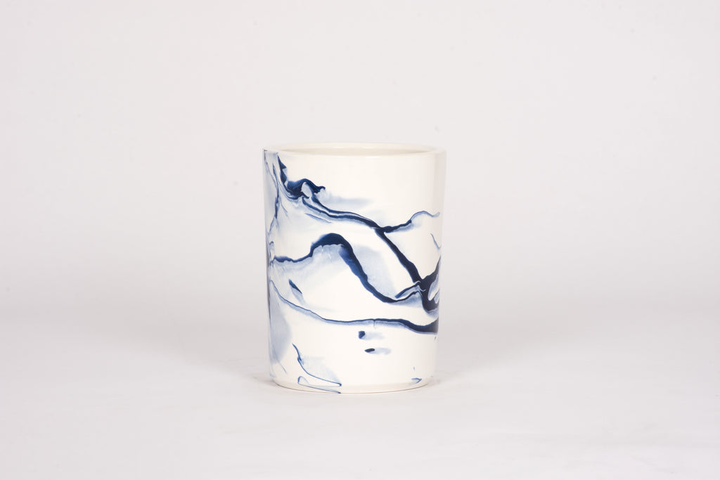 HT Wine Cooler in Delft Blue Marble