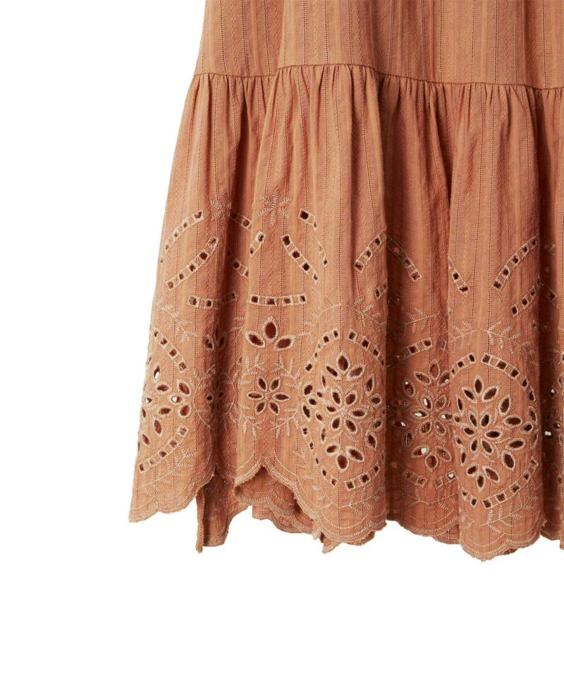 cotton embroidery skirt