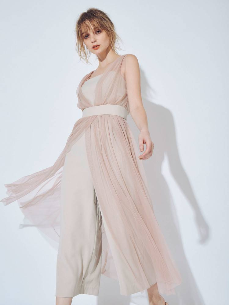 tulle docking rompers