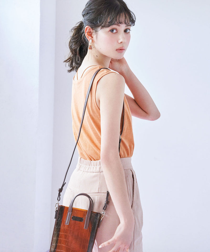 punch suspender flared skirt