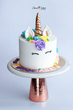 Load image into Gallery viewer, Unicorn Cake 8""