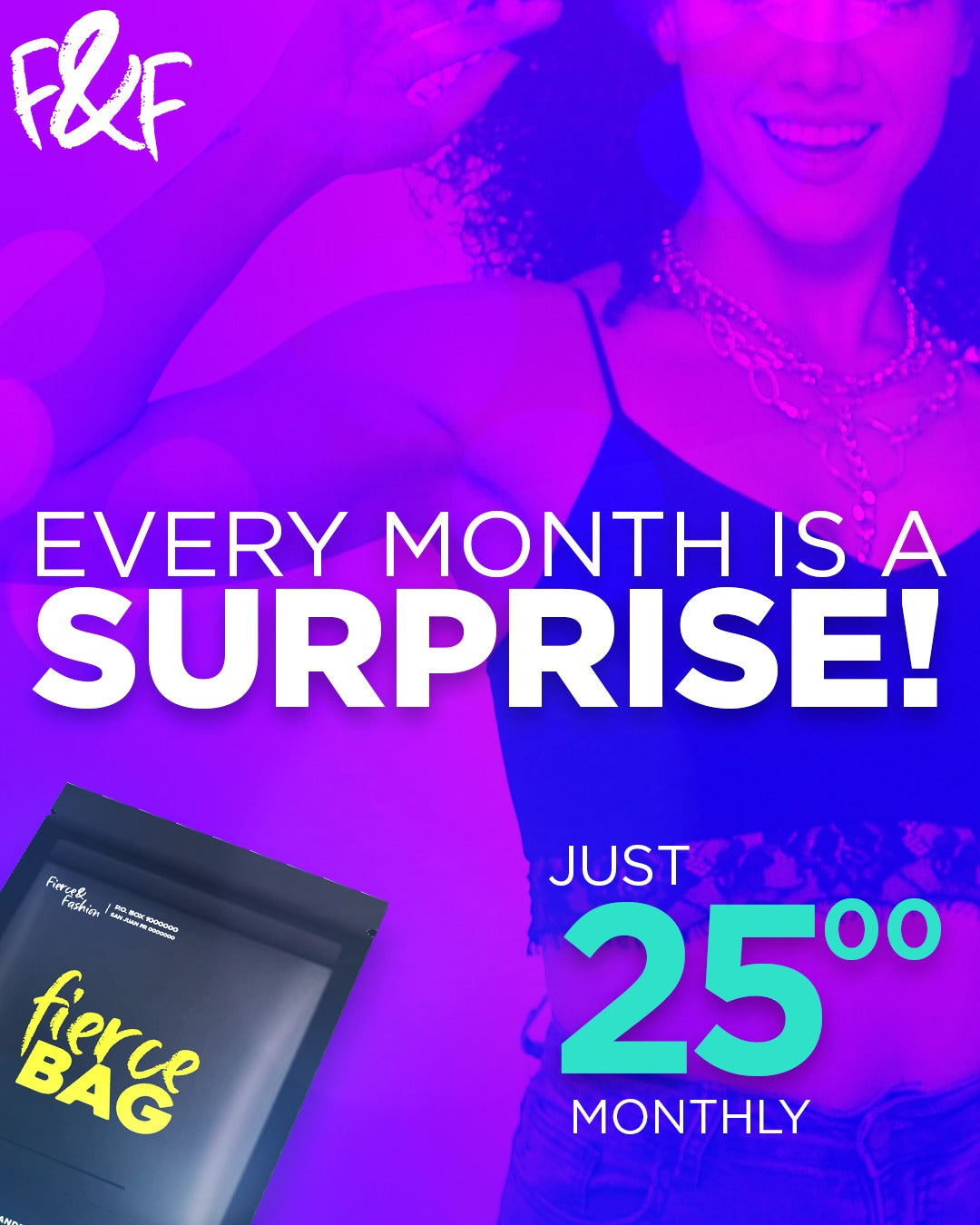 Fierce Bag Monthly Subscription