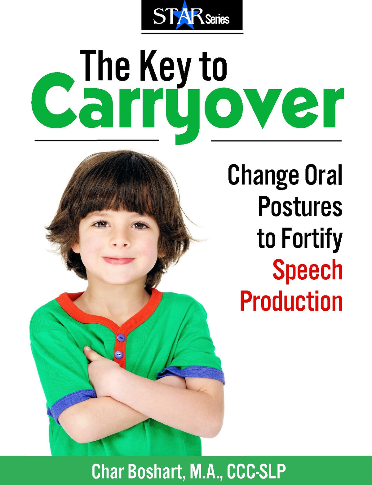 The Key to Carryover: Change Oral Postures