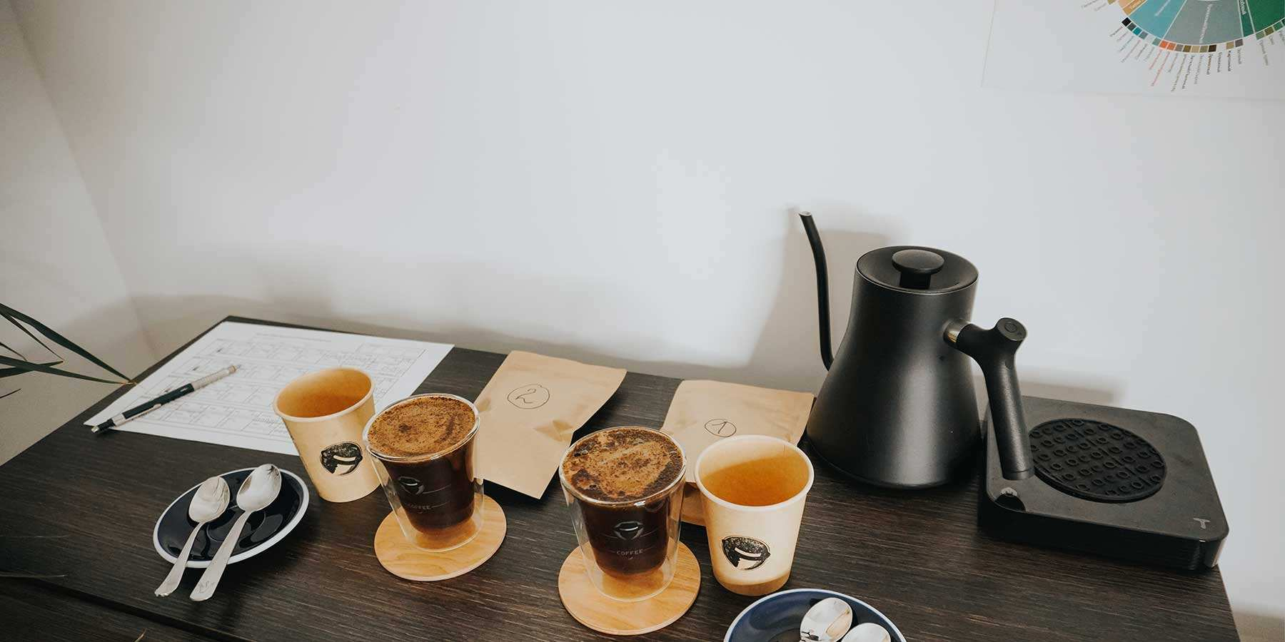 Was bedeutet Coffee Cupping? - Black Hat Coffee GmbH