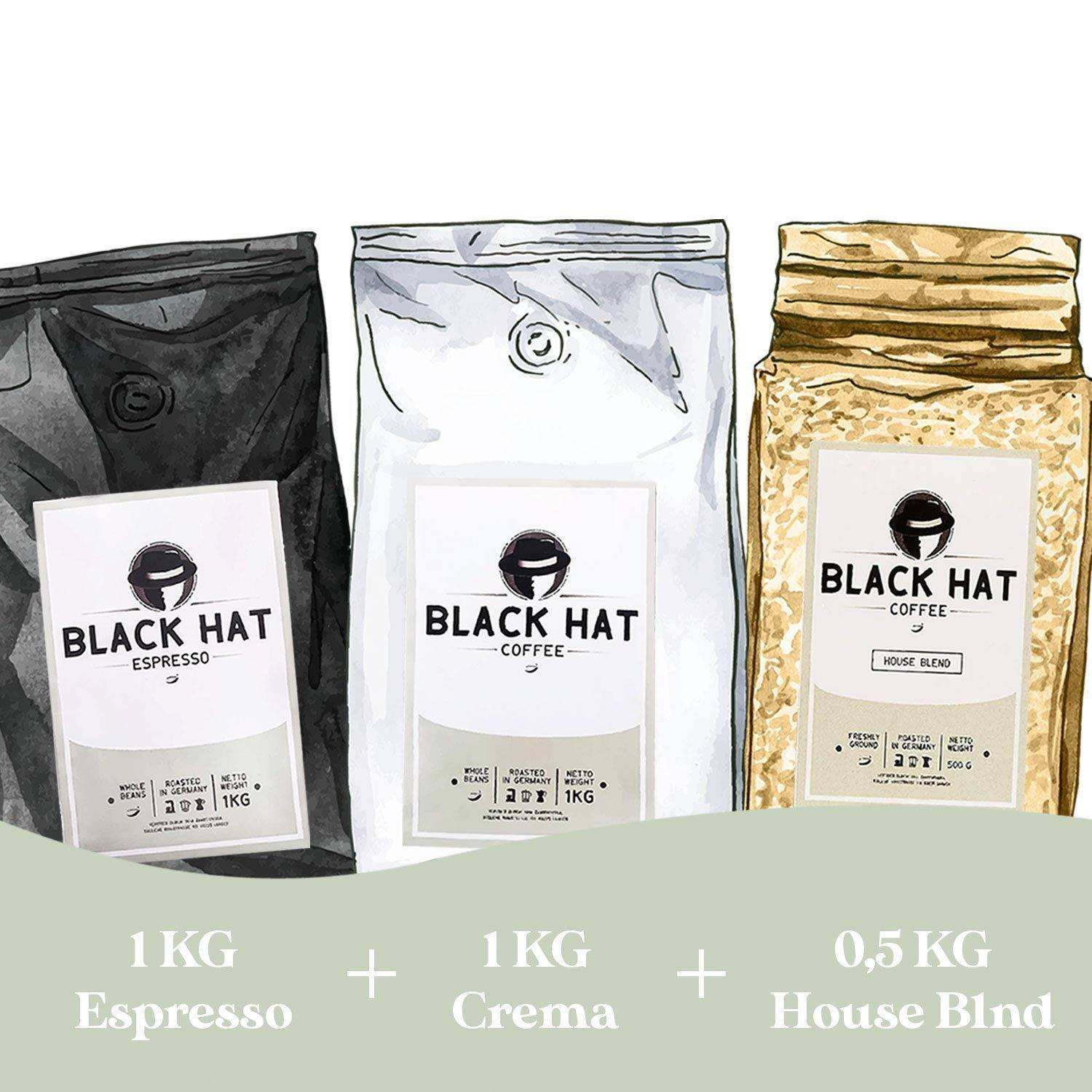 The Classic Bundle 1 - Black Hat Coffee GmbH