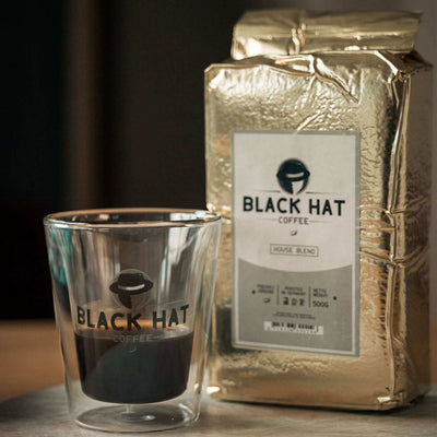 Black Hat Coffee House Blend (gemahlen) - Black Hat Coffee GmbH