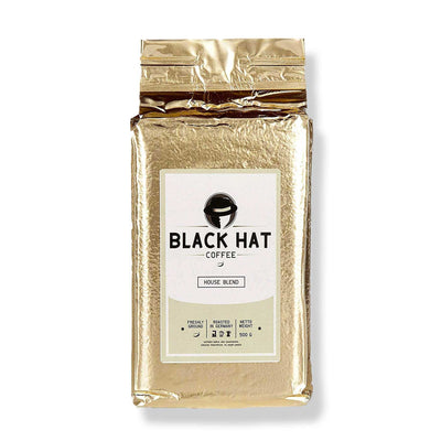 Black Hat Coffee House Blend (gemahlen)