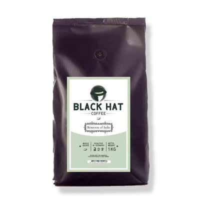 Black Hat Coffee Monsoon of India