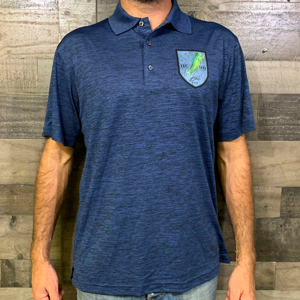 Mahi Patch Polo
