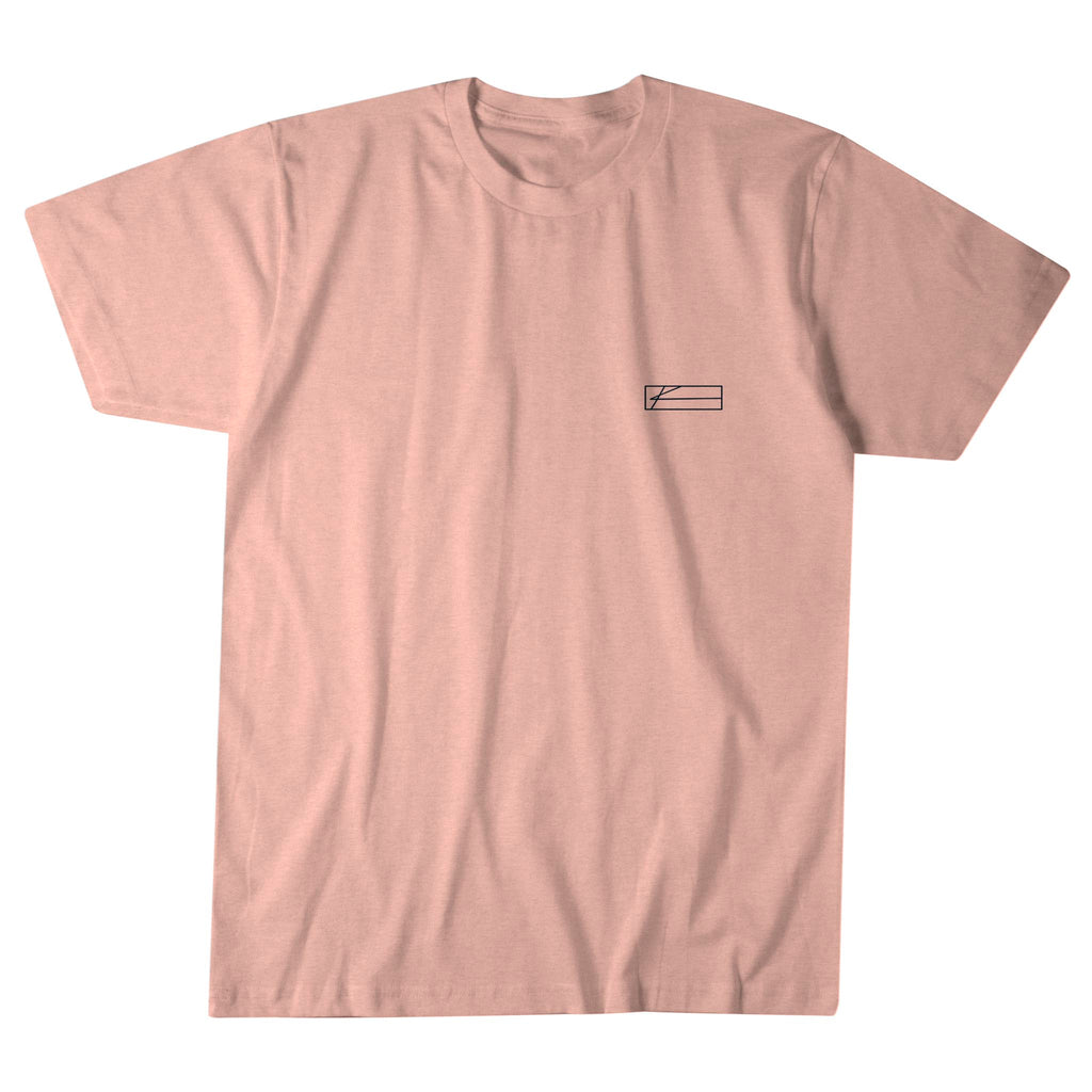 Out of the Blue Tee - Heather Peach