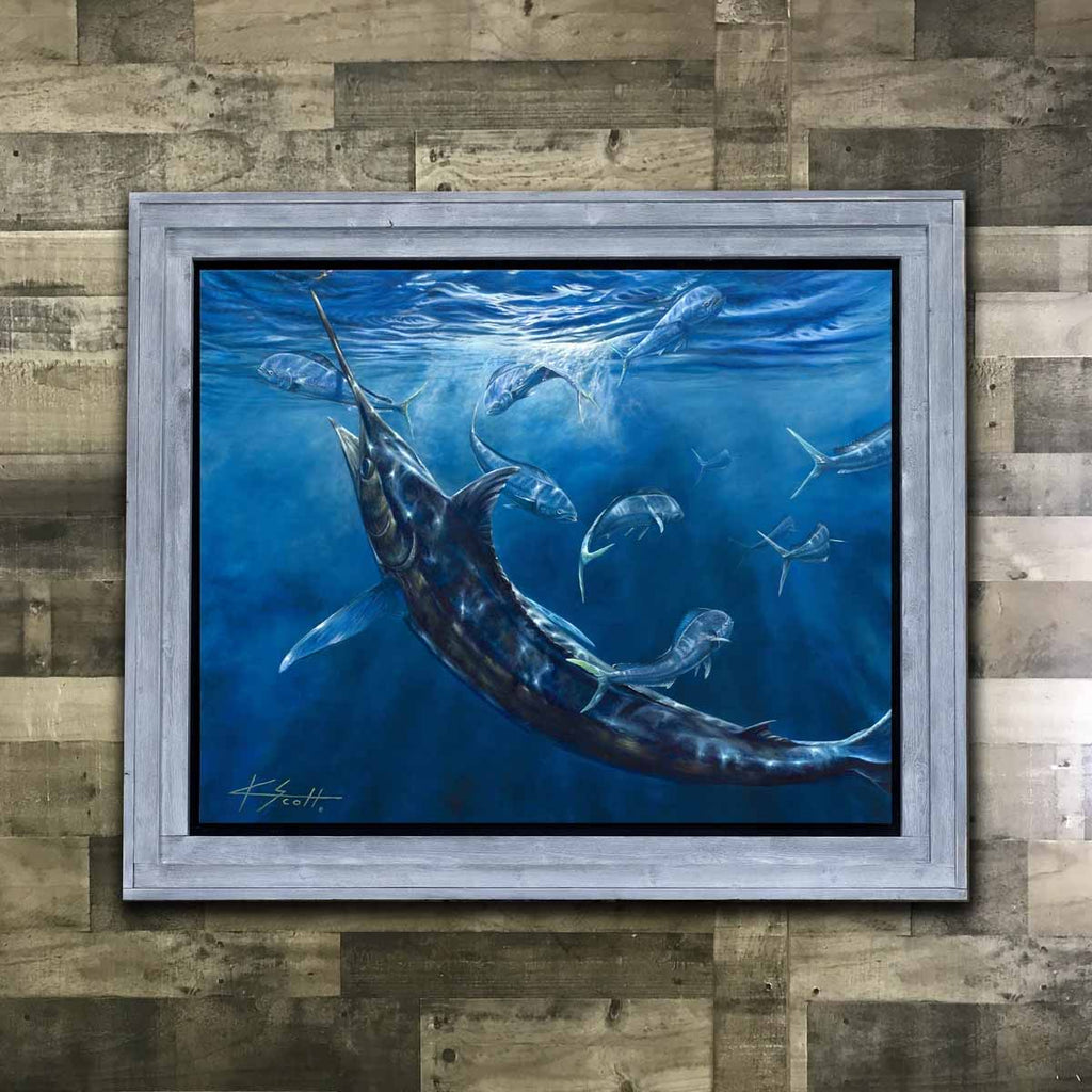 Marlin Framed Painting