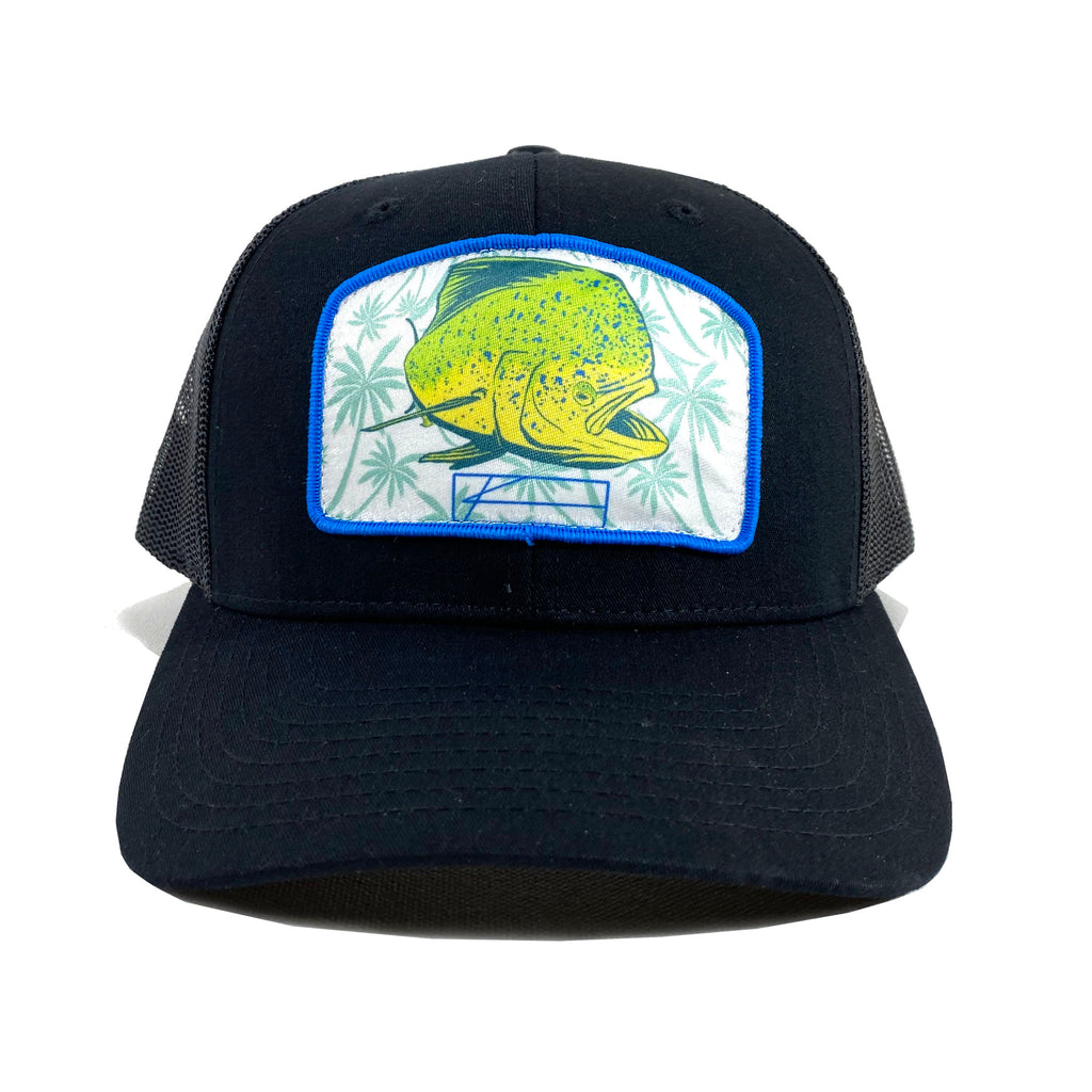 Mahi Palm Patch Trucker