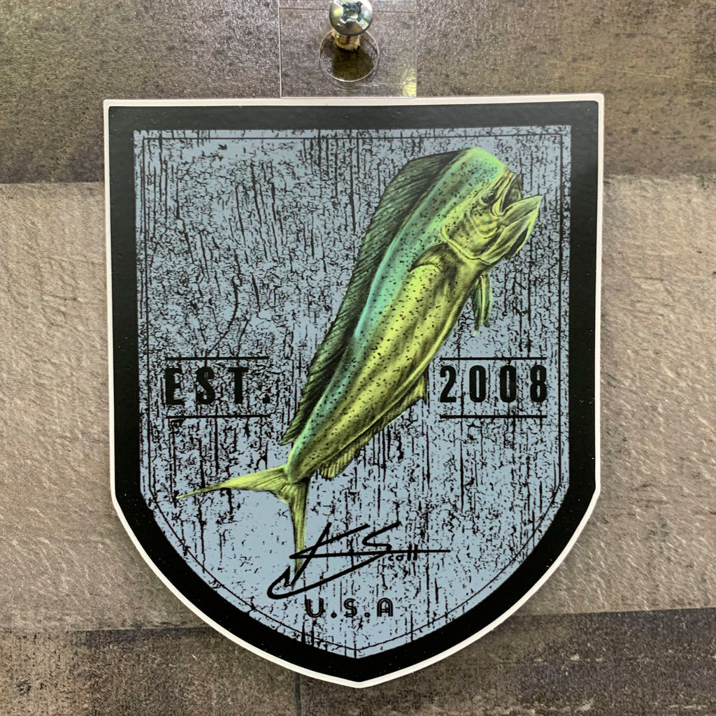 Mahi Patch Sticker