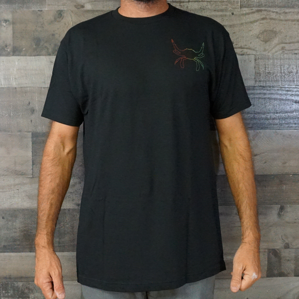 Crab Crusher-Rasta Tee