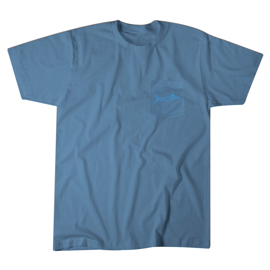 Premium Salt Washed Marlin Pocket Tee