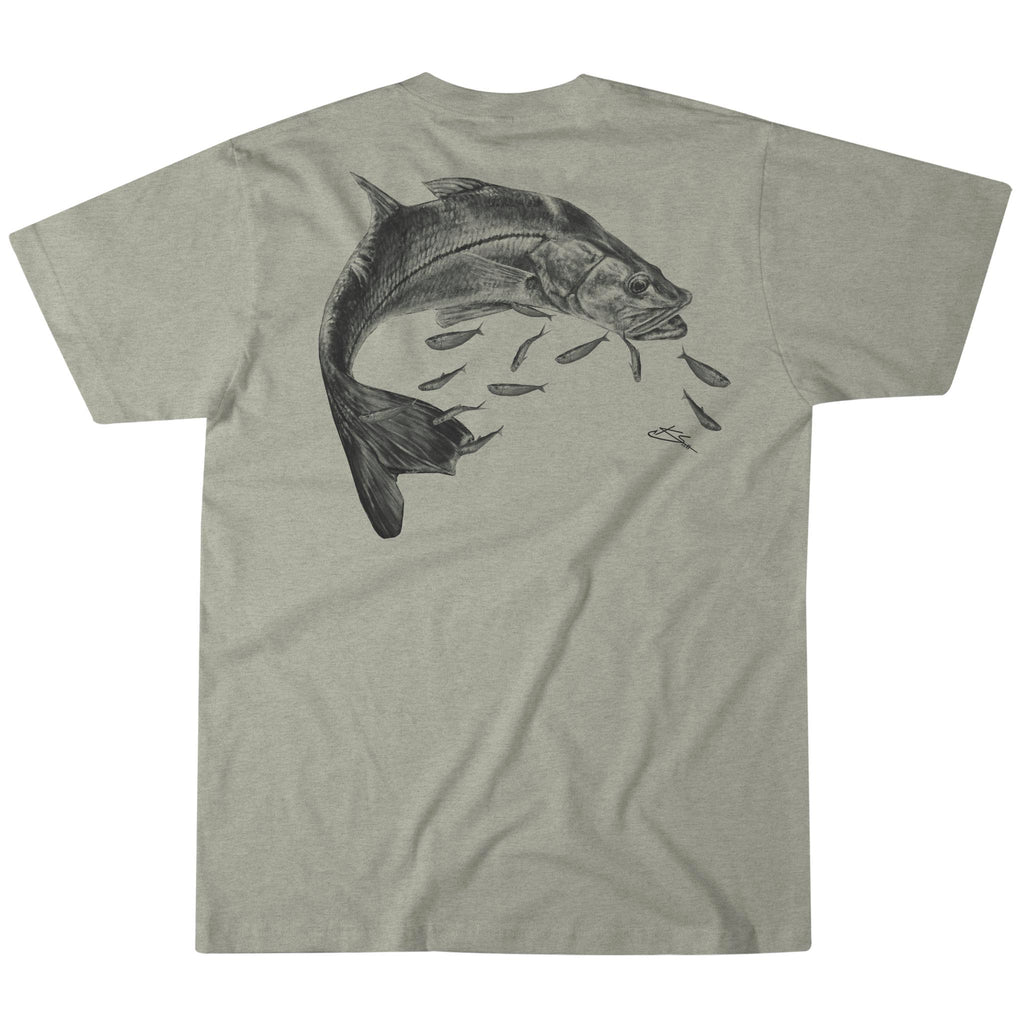 Mangrove Marauder Tee - Heather Stone