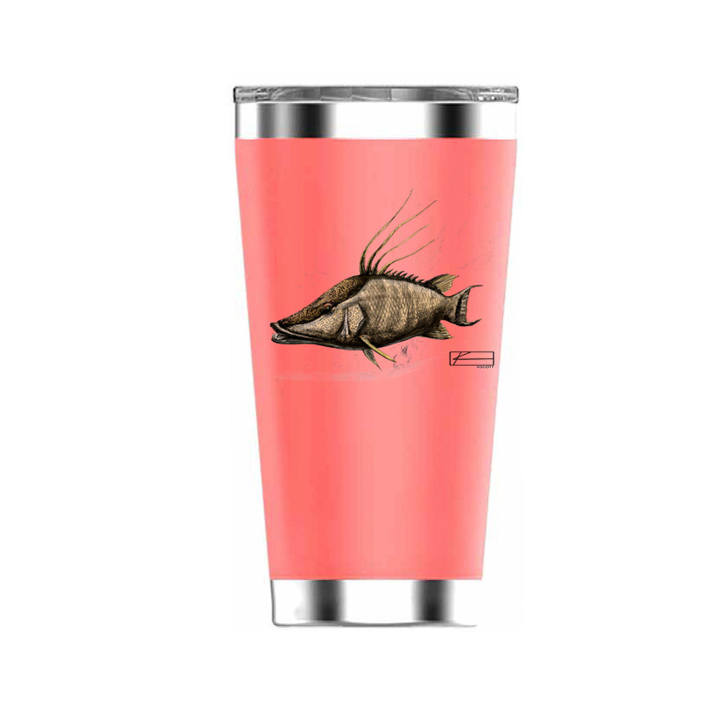 Hog Sketch Tumbler 20oz