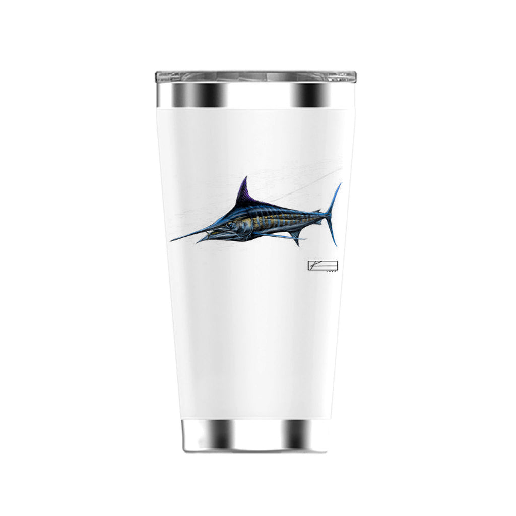 Marlin Sketch Tumbler 20oz
