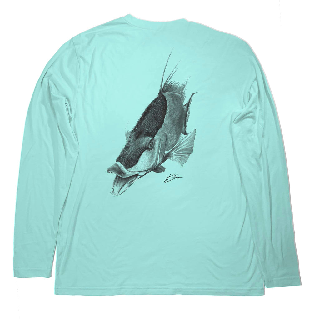 Hogzilla Long Sleeve - Bahama Mint