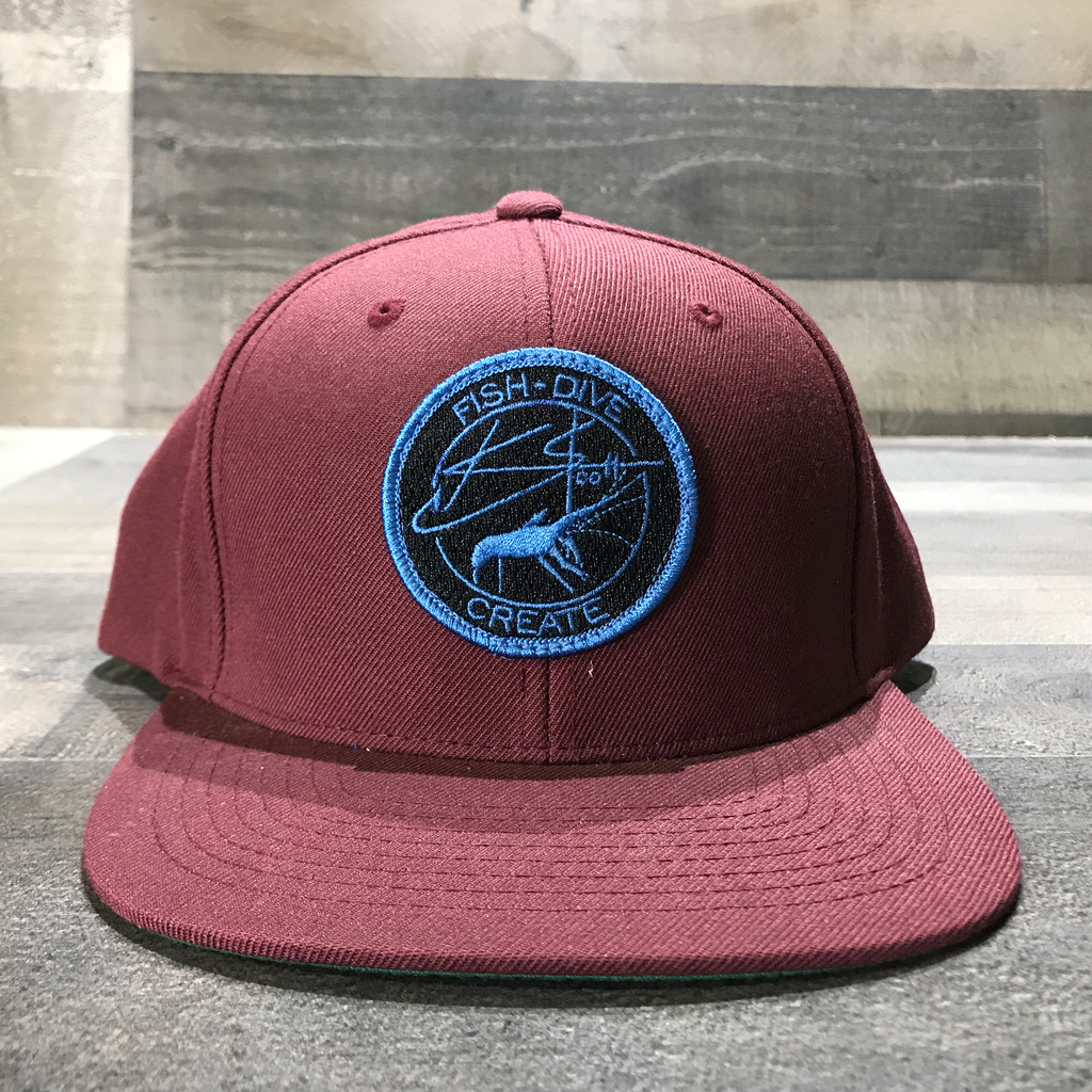 Lobster Patch Snapback