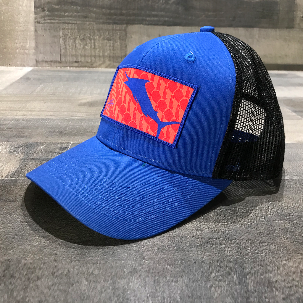 Marlin Patch Trucker