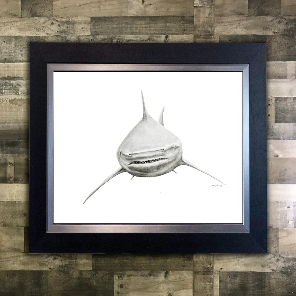 Smiley Bullshark Pencil