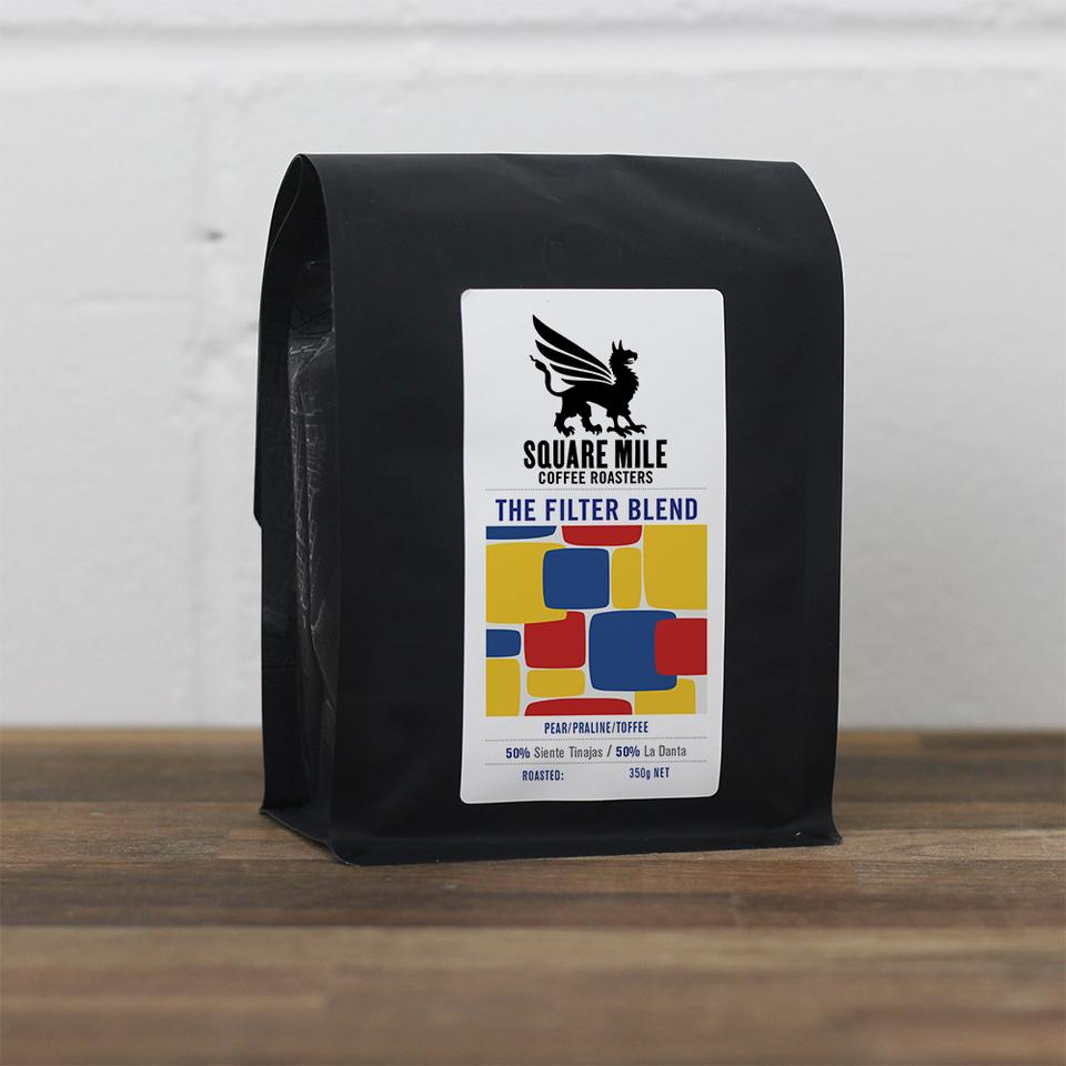 Square Mile Coffee Roasters - The Filter Blend 350g