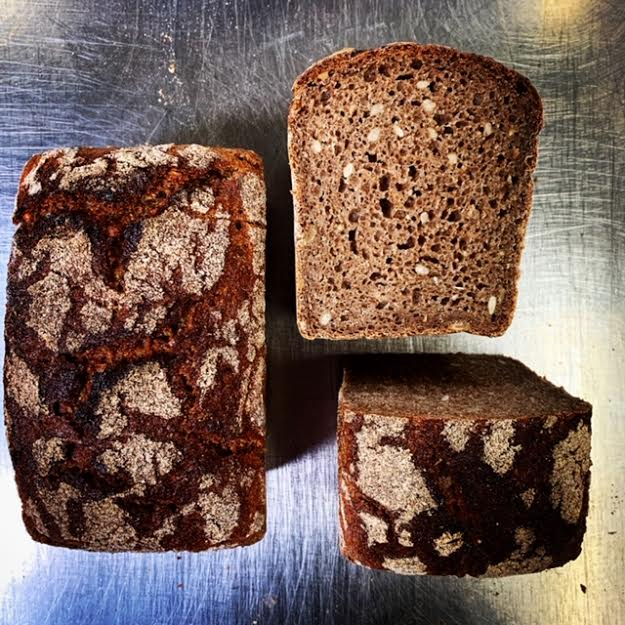 Dark Rye Sourdough Tin