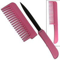 Pretty Hair Knife Comb