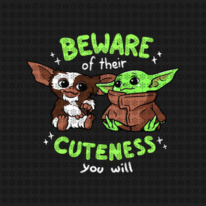 Beware of their cuteness you will, Baby yoda svg, baby yoda vector, baby yoda digital file, star wars svg, star wars vector, The Mandalorian the child svg