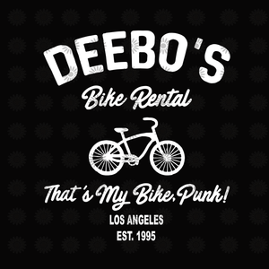 Deebo's bike rental that's my bike punk svg, Deebo's bike rental that's my bike punk, funny quotes svg, png, eps, dxf file