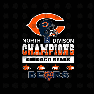 Chicago Bears SVG,Chicago Bears Files,Chicago Bears Football SVG,Bears Printables, NFL Football svg,png, dxf,eps file for Cricut, Silhouette