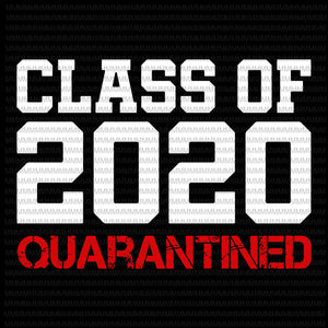 Class of 2020 quarantined svg, Class of 2020, Class of 2020 vector, funny covid 19 vector