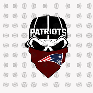 Skull Patriots, New England Patriots, New England Patriots svg, New England Patriots logo, NFL Football svg,png, dxf,eps file for Cricut,Silhouette