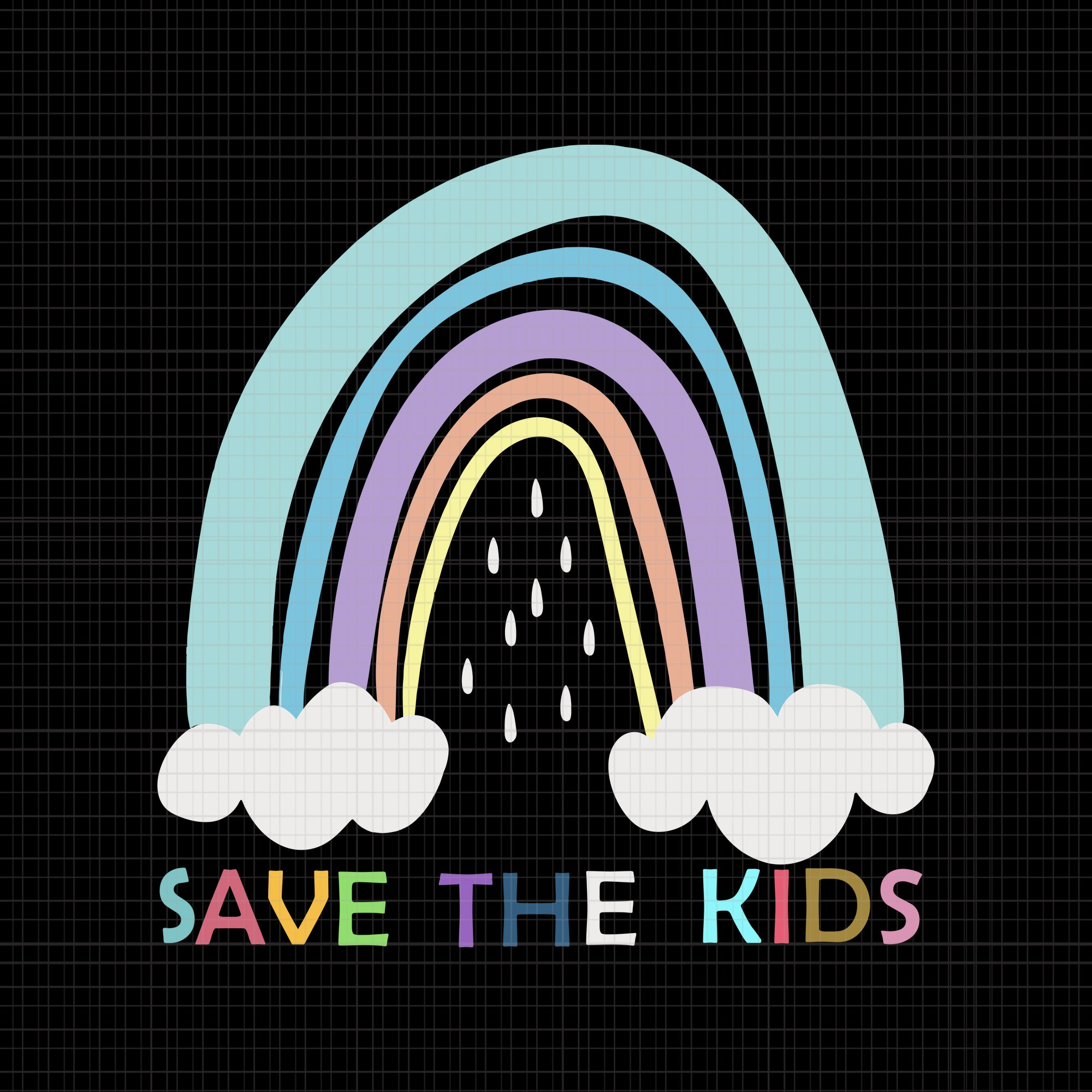 save the kids svg, save the kids png, save the kids vector, save the kids design