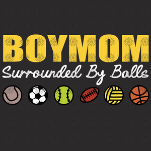 Boy mom surrounded by balls svg, Boy mom surrounded by balls, boy mom svg, boymom, mom svg, eps, dxf, png file