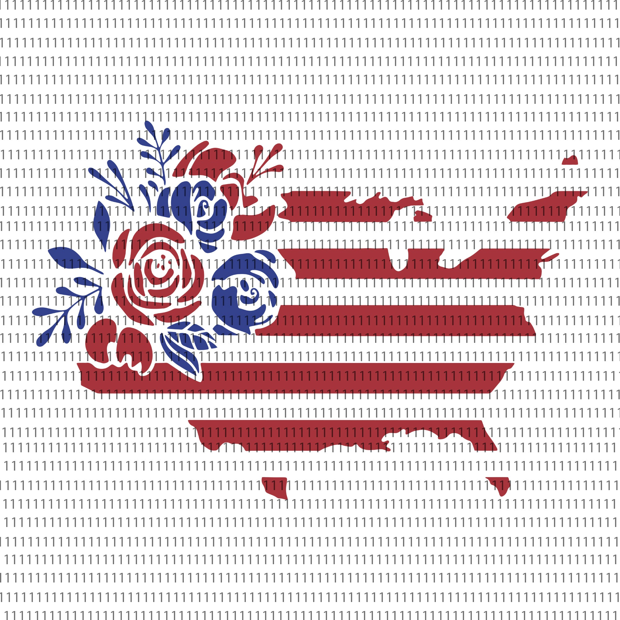 Floral American Flag, Floral American Flag SVG, Memorial Day Svg, 4th July , 4th July Svg, American Flag Svg, Distressed American Flag svg, Merica svg, USA Svg, US State