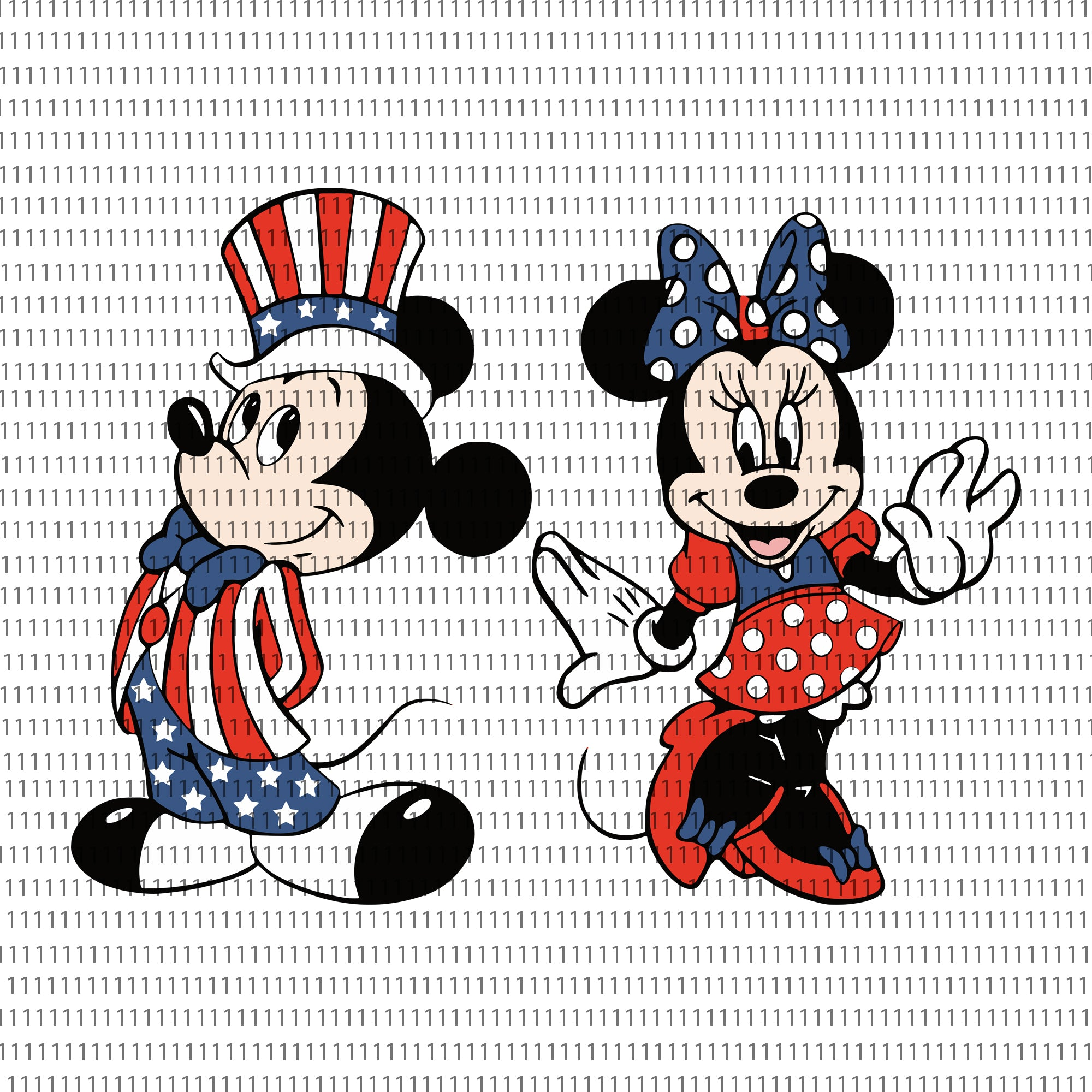Mickey png, mickey, mickey 4th of july svg, mickey 4th of july png, Mickey SVG 4th of July, Patriotic Mickey and Minnie Bundle